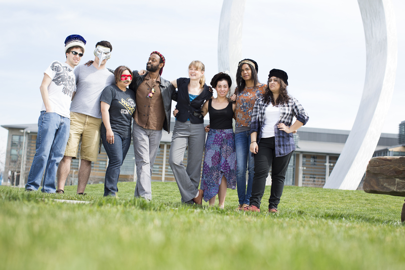 UC Merced students in play.